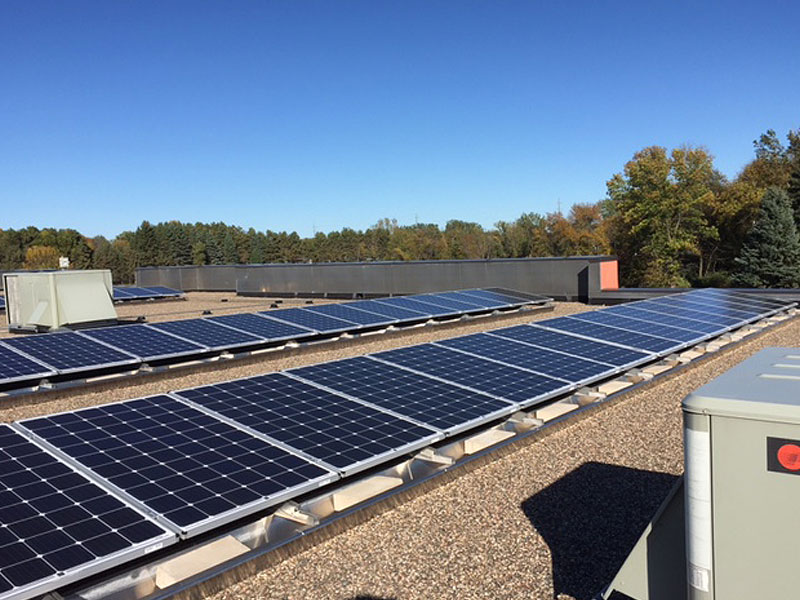 18.5 kW solar array - Blaine, MN