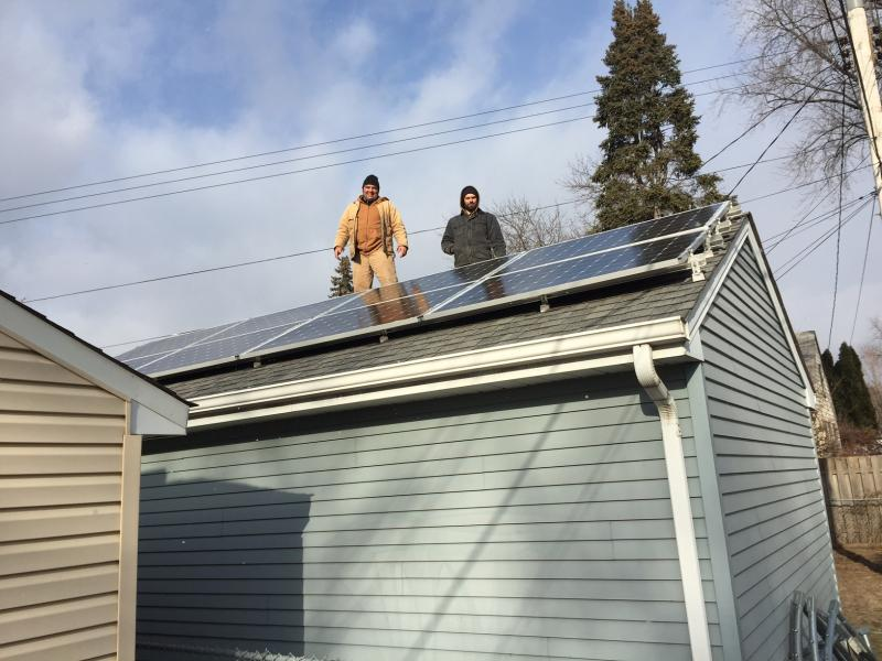 2.2 kW solar array South Saint Paul