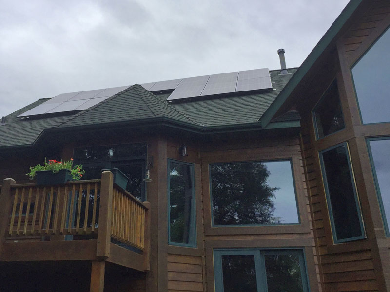 3.9 kW solar array house - Elk River, MN