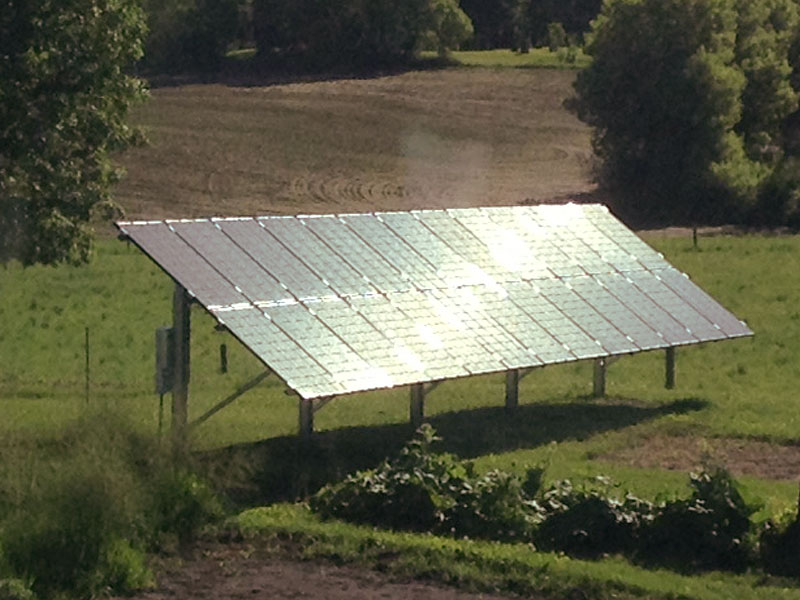 6.5 kW solar array - Dassel, MN
