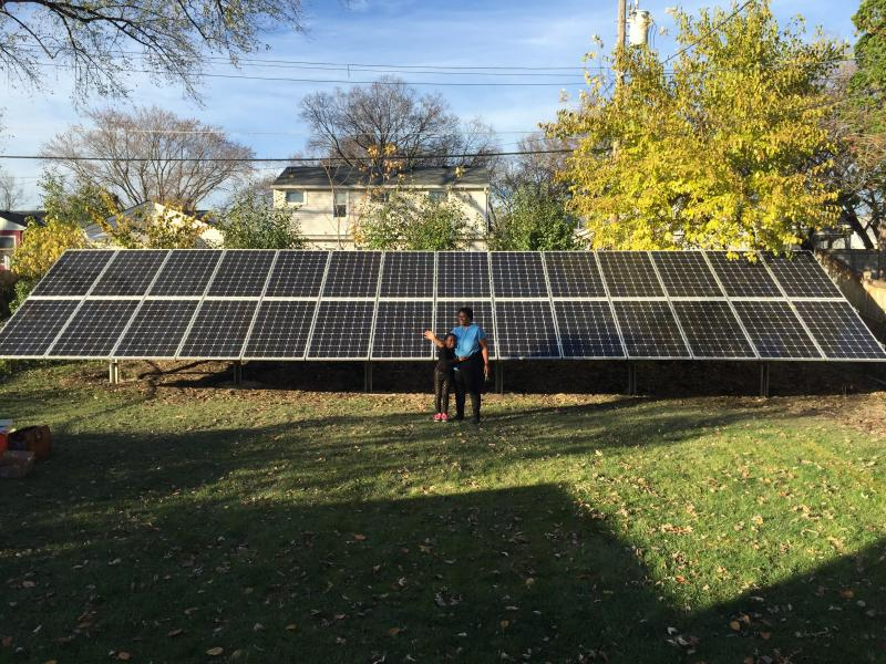 7.7 kW solar array - St Paul, MN