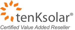 tenKsolar certified installer logo