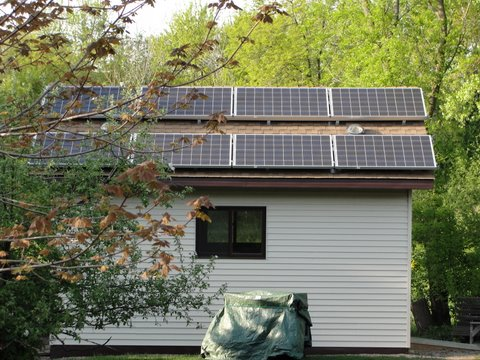 Eagan Residence Solar System 2 (Shed)